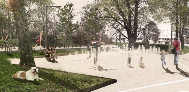 Revitalizácia parku Antona Bernoláka