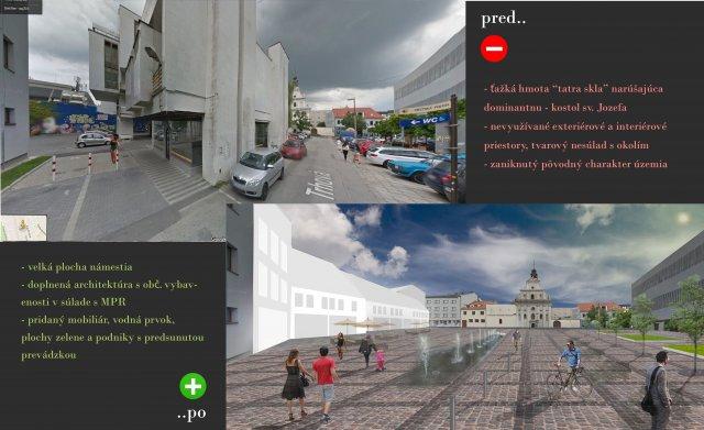 Intervencia - Trhová ulica