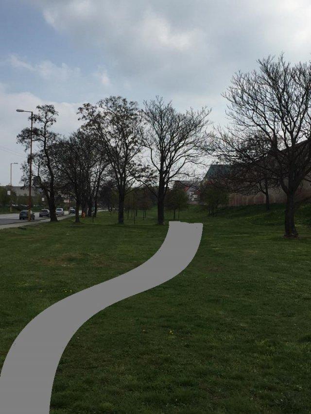 Hradobný park