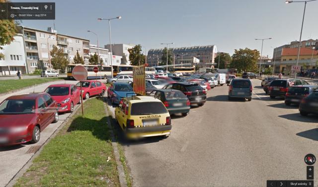 Vymalovanie parkovacích miest